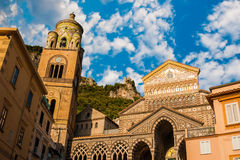 The Amalfi Duomo Royalty Free Stock Photos