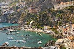 Amalfi, Gulf of Salerno, Italy Stock Images