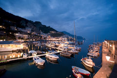 Amalfi harbor Royalty Free Stock Image