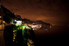 Amalfi harbor Royalty Free Stock Images