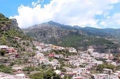 Amalfi hills Royalty Free Stock Photo