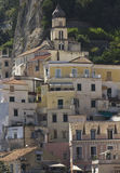 Amalfi, houses and building architectural detail Royalty Free Stock Images