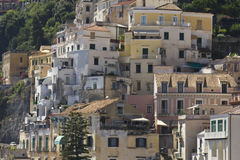 Amalfi, houses and building architectural detail Royalty Free Stock Photography