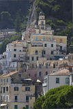 Amalfi, houses and building architectural detail Royalty Free Stock Photo