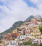 Amalfi houses Stock Image