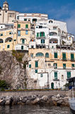 Amalfi houses Stock Photos