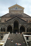 Amalfi - Il Duomo. The cathedral of Amalfi in the Costiera Amlfitana Royalty Free Stock Photos
