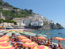 Amalfi Itália Foto de Stock Royalty Free