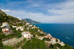 Amalfi, Italie méridionale, côte image libre de droits