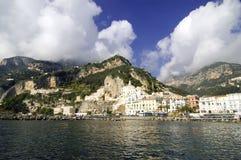 Amalfi, Italien Stockbild
