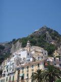 Amalfi Italien Royaltyfria Foton