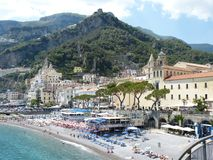 Amalfi, Italy, Amalfi Coast, Coast Royalty Free Stock Photo