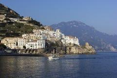 Amalfi in Italy Stock Photos