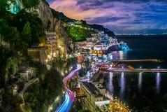 Amalfi Italy coast Stock Photos