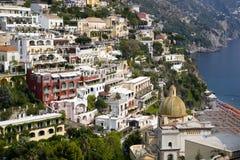 Amalfi-Küste Stockfotografie
