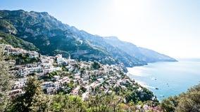 Amalfi-Küste stockfoto