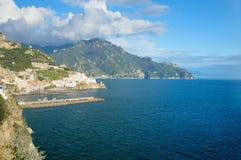 Amalfi-Küste Stockbild