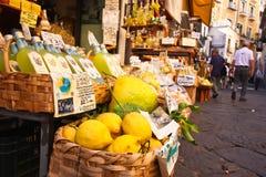 Amalfi-Küste-Markt stockfotografie
