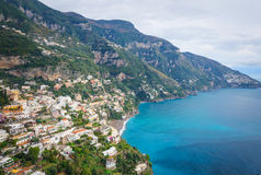 Amalfi-Küste - Positano Lizenzfreies Stockbild