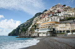 Amalfi-Küste - Positano Stockfotos