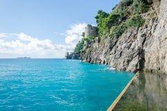 Amalfi-Küste - Positano Lizenzfreie Stockfotos