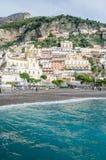Amalfi-Küste - Positano Stockbild