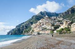 Amalfi-Küste - Positano Lizenzfreie Stockbilder