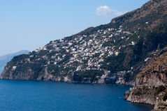 Amalfi-Küstenhalbinsel Lizenzfreie Stockfotos