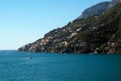 Amalfi-Küstenhalbinsel Stockbild