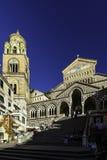 Amalfi katedra Obrazy Stock