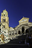 Amalfi Kathedraal Stock Afbeeldingen