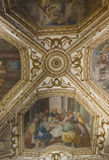 Amalfi-Kathedrale, Krypta von St Andrew, Freskodetail Lizenzfreies Stockbild