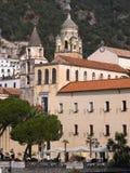 Amalfi kerk heilige Benedetto Stock Afbeelding