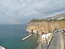 Amalfi lizenzfreies stockfoto
