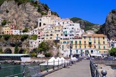 Amalfi kust stock foto