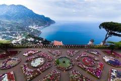 Amalfi Kust Stock Foto's