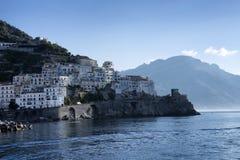 Amalfi Kust Stock Afbeeldingen
