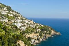 Amalfi Kust Royalty-vrije Stock Fotografie