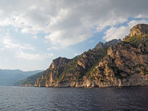 amalfi kust Royaltyfri Fotografi