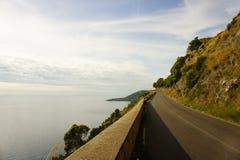 Amalfi kust Arkivbilder