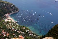 Amalfi kust Royaltyfria Foton