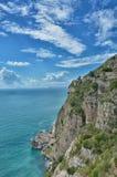 Amalfi Kust Stock Fotografie