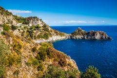 Amalfi kust - Campaniaregion, Italien Royaltyfria Bilder