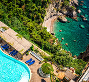 Amalfi Kust. Italië Stock Afbeeldingen