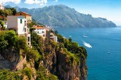 Amalfi kust, Italië royalty-vrije stock foto's