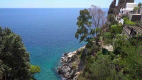 Amalfi Kust, Italië stock footage