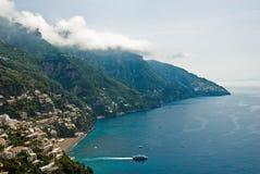 Amalfi Kust, Italië Stock Foto
