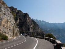 Amalfi kust - Italien Arkivfoton