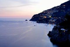 Amalfi Kust - Praiano Stock Foto's