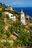 Amalfi kust - Salerno, Campania, Italien, Europa Royaltyfria Foton